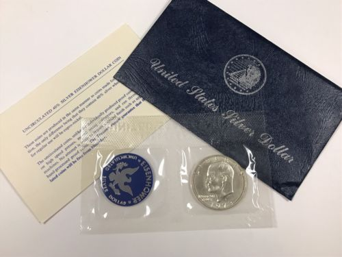 1973 Uncirculated Eisenhower Silver Dollar