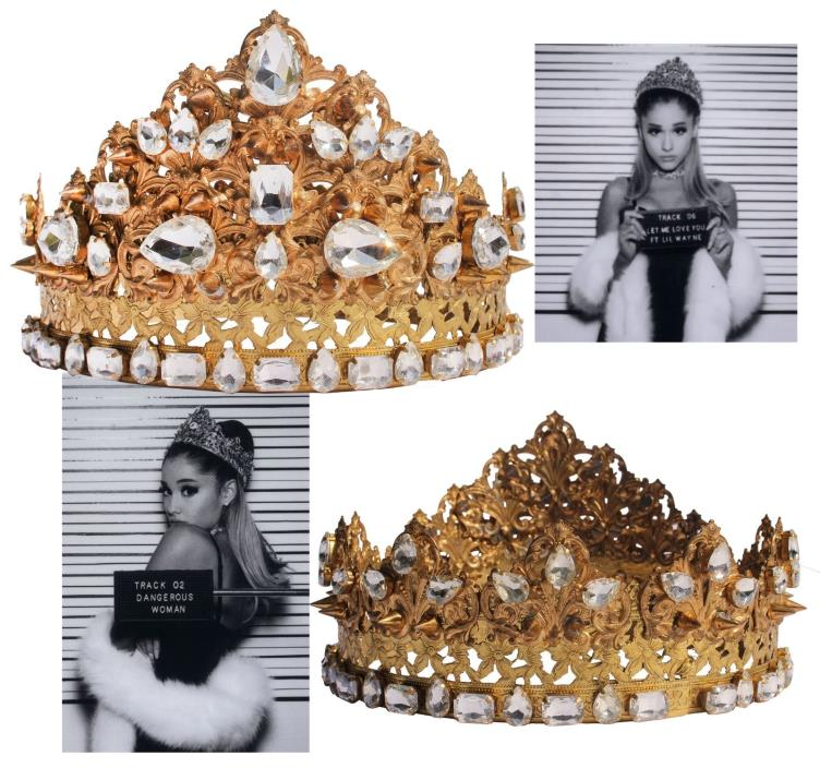 Ariana Grande Crown Worn for ''Dangerous Woman'' Promo
