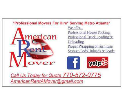 Profesional Movers For Hire