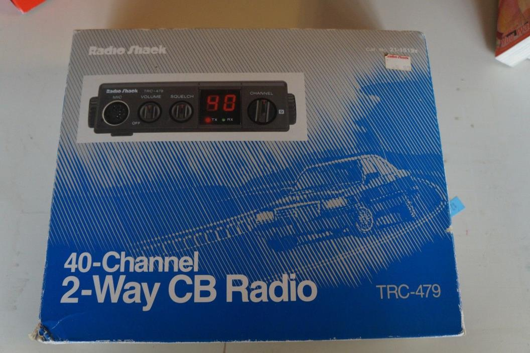 Vintage Radio Shack 40 Channel CB Radio TRC-479