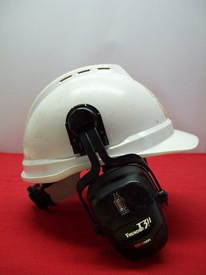 Certified Vented Advance Protective Hard Hat & Headphones