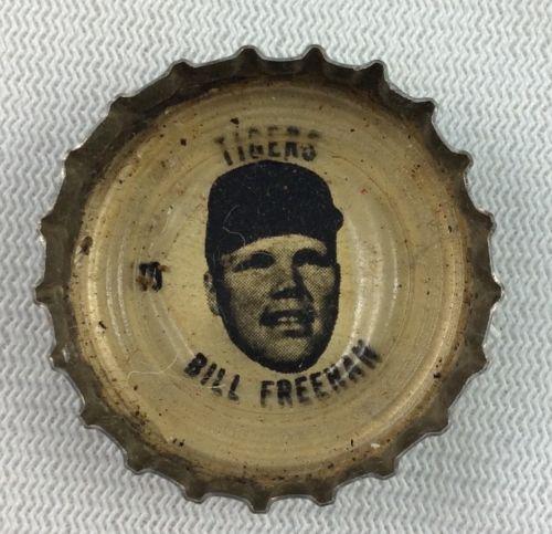 MLB 1967 Bill Freehan, Detroit Tigers Coke Bottle Cap