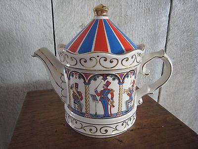 Sadler Edwardian Entertainments Teapot - Bandstand - Staffordshire England