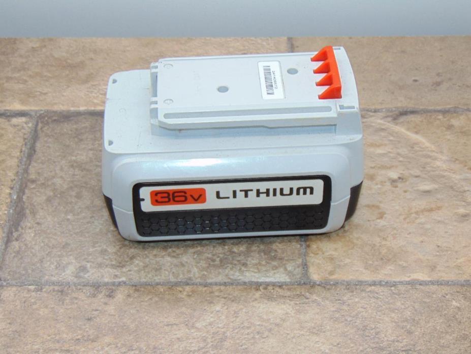 Black & Decker 36 Volt Lithium Ion Battery LBXR36  Black and Decker Lawn Garden