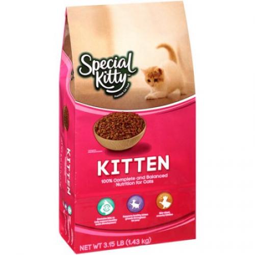 Special Kitty: Kittens Cat Food, 56 Oz