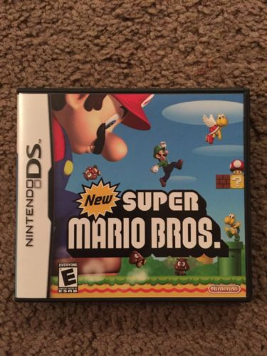 New Super Mario Bros. Nintendo DS NDS Case Only