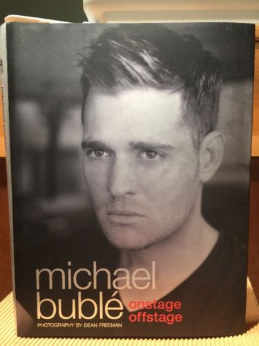 Michael Bublé  Onstage, Offstage  Hardcover Book