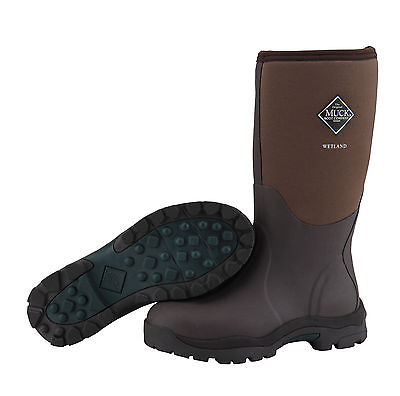 Muck WMT-998K Women's Wetland Waterproof Insulated Hunting Boots Brown