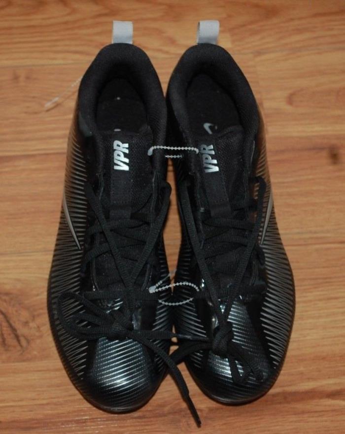 NEW Nike Vapor Strike 5 TD Mens Football Cleats Black Sizes 10 833407-001