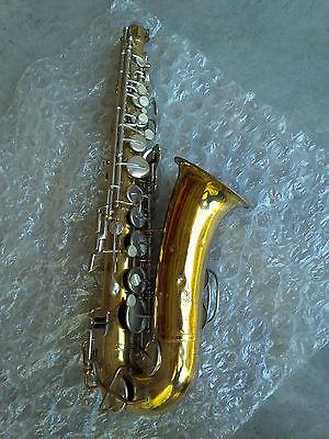 BUESCHER Alto Saxophone no. 478357  no case  Parts Repair