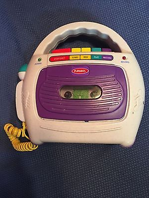Playskool Tape Recorder w/ Microphone 2000 PS-452 **Tested** EUC