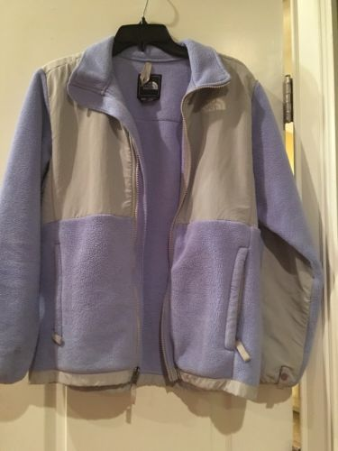 The North Face Fleece Jacket    size: XL (18) girls