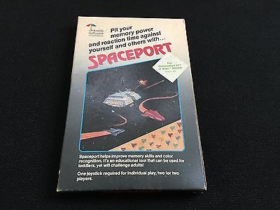 Spaceport (Umbrella Software) disk for C64 Atari 400/800/XL/XE RARE - TESTED