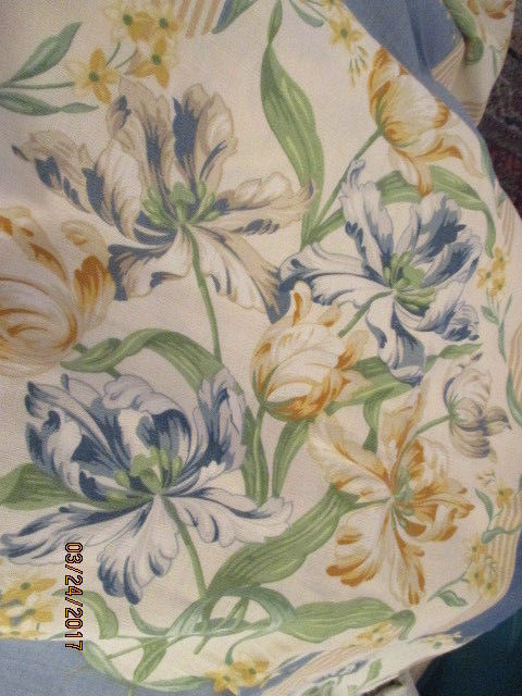 Jane Churchill Limited - Mayfield Fabric - Printed in England 1997