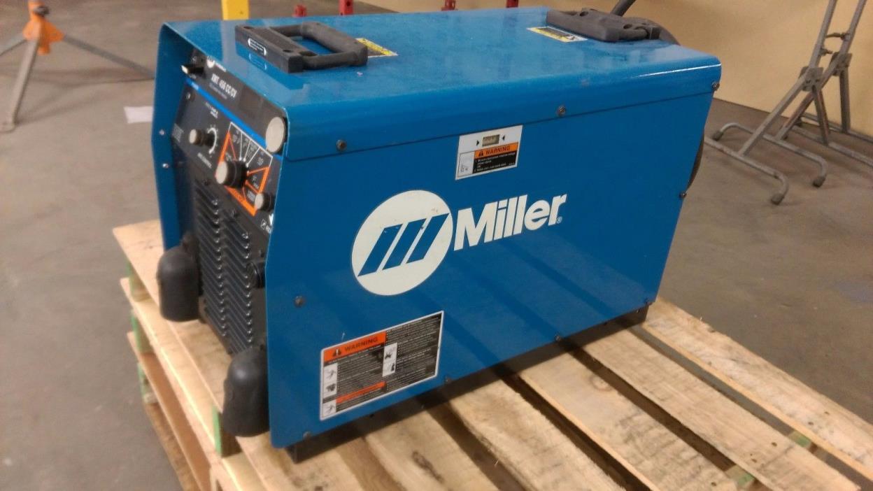 Miller XMT456 Inverter Welder Multi Process CC/CV MIG TIG Stick