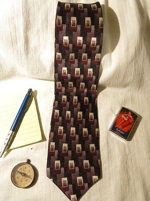 Mens Neck Tie Louis Roth 100% Silk