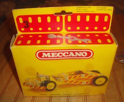 Vintage 1981 MECCANO Grader Building Kit as-is condition used in box