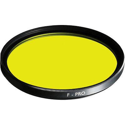 B+W 67mm #8 Yellow SC (022) Filter - Schott Glass - Brass Ring MPN: 65-070587