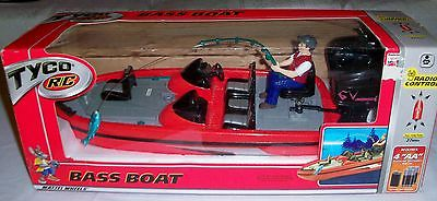 VINTAGE Tyco RC Bass Boat Rare NEW IN BOX