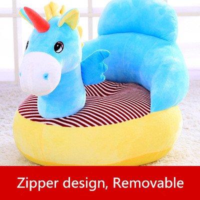 Children Chair Stuffed Unicorn Plush Chair Soft Cozy Armchair/Sofa Chair for