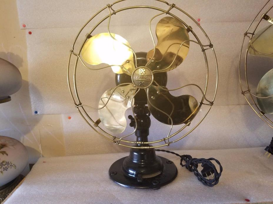 antique emerson fan oscillating 3 speed 21646