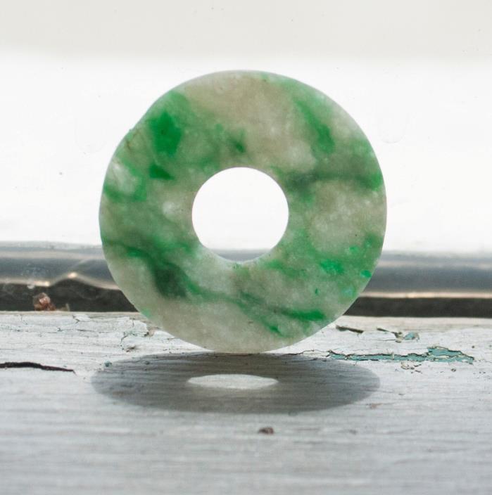 Antique Chinese Jadeite Bi
