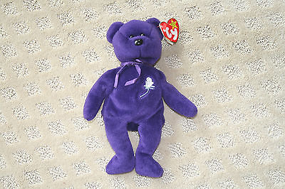Retired Ty Beanie Baby Babies Princess 1st First  Edition