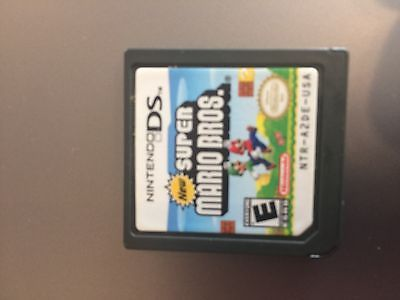 Nintendo 3 ds NDSi ds Lite cartridges/new super Mario bros. 1:1