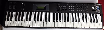 Korg X5D Vintage MUSIC SYNTHESIZER w/ power supply - Excellent Condition!
