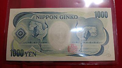 Japanese 1000 Yen Nippon Ginko Banknote old Series S GEM UNC