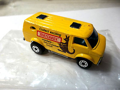 Matchbox Lesney  1979 b Chevy van #68 Superfast PROMO w baggie