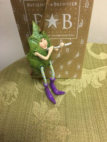 Patience Brewster Krinkles Mini Piper Piping Ornament    NIB
