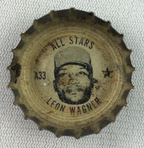 MLB 1967 Leon Wagner, Cleveland Indians All Stars Coke Bottle Cap