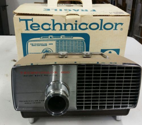 Vintage Technicolor 800 Instant Movie Projector