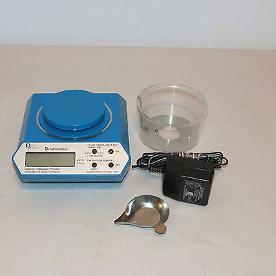 DILLON PRECISION D-TERMINATOR RELOADING ELECTRONIC SCALE 1200 GRAINS