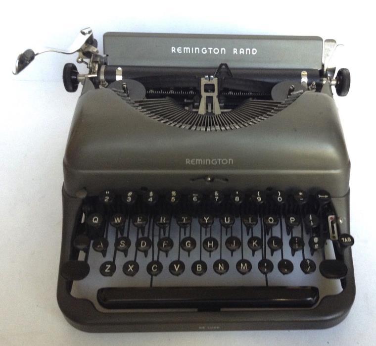 Remington 5 Manual Portable Typewriter