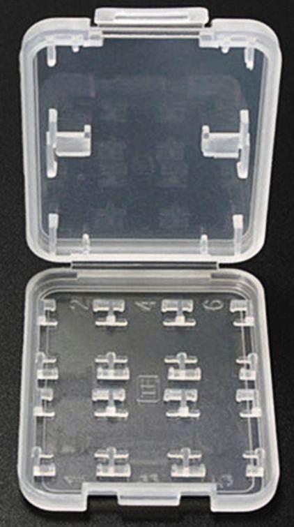 8 Slot Memory Card Protector Storage Case Holder SD SDHC Micro MMC MSPD TF