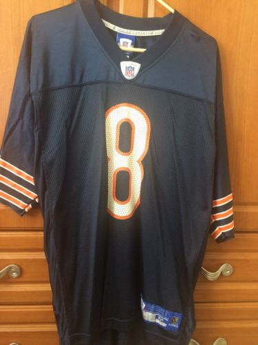 Men's Medium Chicago Bears Rex Grossman #8 Reebok NFL Jersey