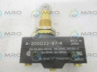 OMRON A-20GQ22-B7-K SWITCH *USED*