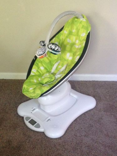 4moms mamaRoo Motorized Baby Swing Bouncer Music With Bluetooth