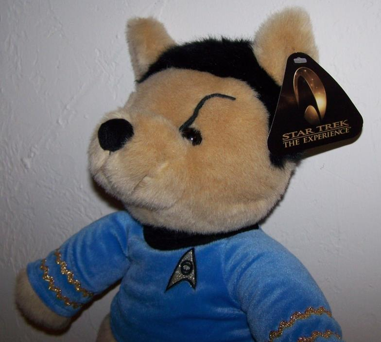 Star Trek The Experience SPOCK Vulcan Teddy Bear 13