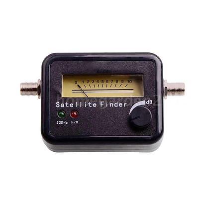 Mini Portable Illuminated Satellite Signal Finder Meter for Dish Network E6F2