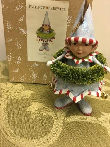 Patience Brewster Krinkles 11 Dasher's Wreath Elf