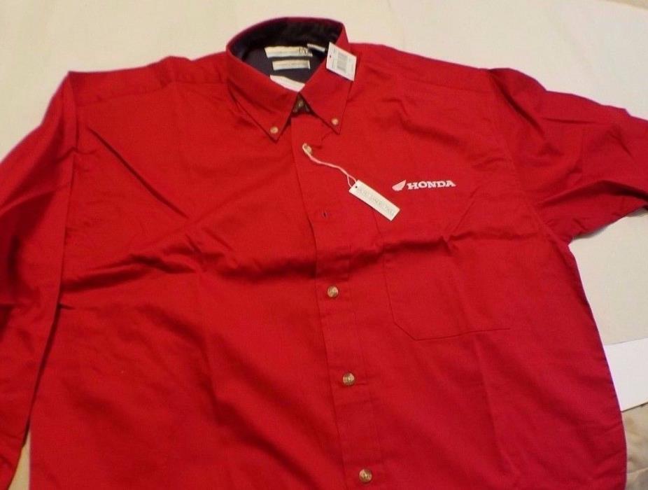 Honda Motorcycle shirt long sleeve size M  free shipping