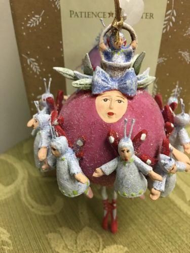 Patience Brewster Krinkles 11 Ladies Dancing Ornament
