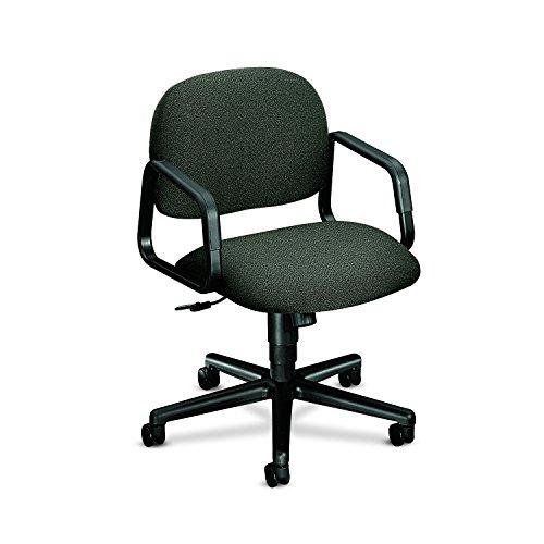 HON 4002AB12T Solutions Seating Mid-Back Swivel/Tilt Chair, Olefin, Gray