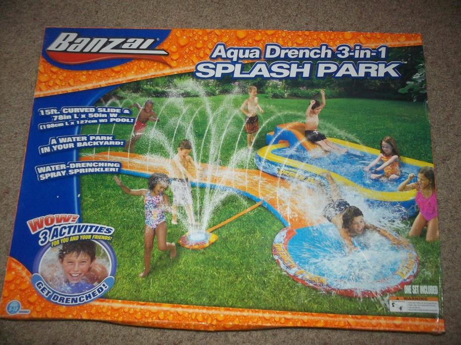 Banzai Inflatable Water Slide For Sale Classifieds