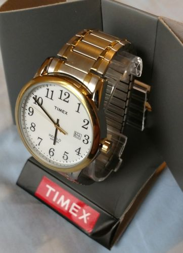 Men's Timex Easy Reader Expansion Band Watch