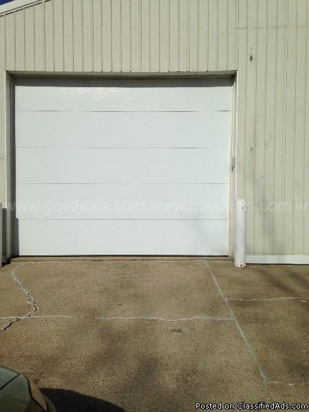 Garade door and opener