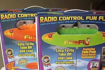 Megatech FireFly Radio Remote Controlled Flyer - Orange - NIB